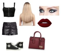 """""""Untitled #228"""" by darkfire9 on Polyvore featuring Pilot, Chanel, Michael Kors, Lime Crime and Extension Professional"""