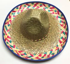 Perfect of a Fiesta themed bachelorette or Cinco De Mayo Party! Wording here reads: Nacho Average Bride This hat can be purchased with Custom Text by character length or blank with no text. Examples of Custom text: Fiesta Siesta Tequila Señora Martínez Cheers Senoritas Bride to Be Bachelorette La Novia PRODUCT INFO: -Hat Material: Paper Straw -24 and comes with a chin strap ORDERING INFO: -When purchasing please leave in the notes to seller date needed by. -If purchasing custom text pl...