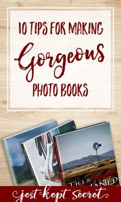 Looking for tips on how to make a photo book that doesn't look just like everyone else's? Here are my top 10 favorite ways to take your photo books from run-of-the-mill to true works of art your family will treasure for generations to come.