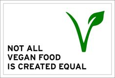 Not all vegan food is created equal. Just because something is vegan, doesn't necessarily mean it's better for our health, our planet, or even animals. Vegan Food, Vegan Recipes, Equality, Herbs, Create, Health, Animals, Social Equality, Animales