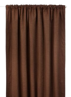 Kent Pencil Pleat (3 header) Thermal Curtain in Chocolate Size: 6684 (168 x 213 cm) width x drop