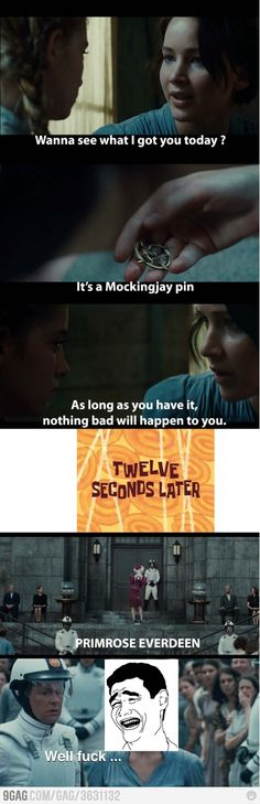 The Hunger Games - Oh the irony