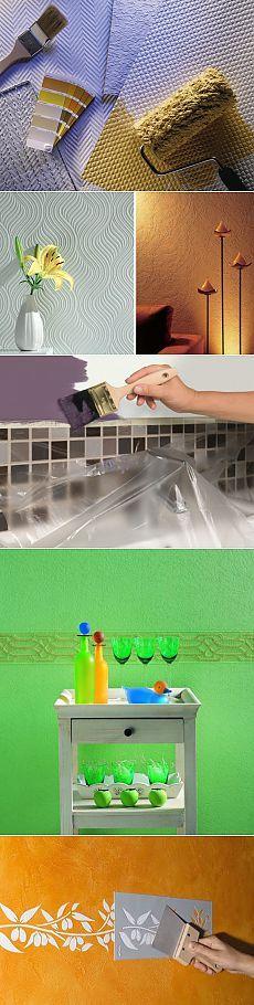 (+1) тема - Покраска стен | СВОИМИ РУКАМИ