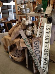 Na-Da Farm Barn Sale starts today! I thought I& share just a few pictures of the space so far. Craft Show Booths, Craft Show Displays, Booth Displays, Retail Displays, Jewelry Displays, Window Displays, Flea Market Booth, Flea Market Displays, Antique Booth Ideas