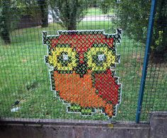 Urban X Stitch – Cross Stitching Street Art | BizarreBeyondBelief