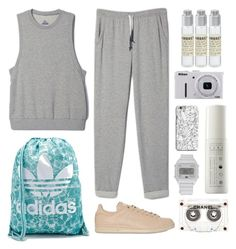 """""""Show Off Your adGIRL Style: Contest Entry"""" by s-chan-forever ❤ liked on Polyvore featuring adidas, Chanel, INDIE HAIR, Intelligent Nutrients, Nikon, Le Labo and adigirl"""