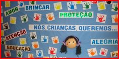 O Dia das Crianças é comemorado no dia 12 de outubro no Brasil. É muito comum na escola os professores confeccionar Painel e Mural para o Dia das Crianças.
