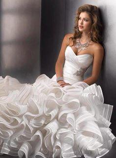 hermoso traje de novia