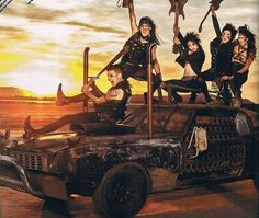 BVB I like how no ones tends to notice Ashley in the back..... who has on different warpaint and a bra