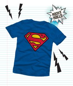 Your little one's new favourite t-shirt to wear to school. This Superman short sleeve t-shirt goes great with jeans and cargo pants