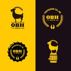Old Bust Head Brewing #Identity #logo