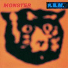 Monster- R.E.M 1990s album cover