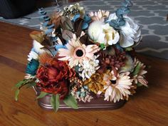 Custom Designed Floral Centerpieces by PenelopeKDesigns on Etsy