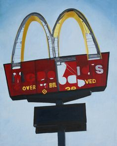"""""""West Esplanade, Metairie"""" from """"Signs of the Times"""". Artist Michelle Levine"""
