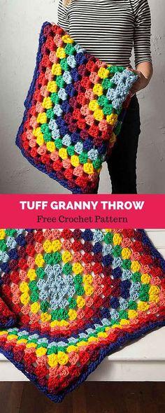 Transcendent Crochet a Solid Granny Square Ideas. Inconceivable Crochet a Solid Granny Square Ideas. Modern Crochet, Love Crochet, Learn To Crochet, Crochet Hooks, Crochet Baby, Afghan Crochet Patterns, Crochet Squares, Knitting Patterns, Granny Squares