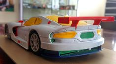 Slot cars, Scaleauto 1/24 SRT Viper GTS-R Hand-painted test prototype - See more at: http://manicslots.blogspot.com.au/#sthash.ZHEMki8E.dpuf