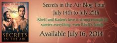 Secrets in the Air by Liz Borino: Interview, Review, Giveaway & More!