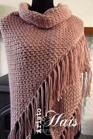 José Crochet: BoHo Ibiza style shawl Poncho Crochet, Crochet Shawls And Wraps, Crochet Scarves, Diy Crochet, Crochet Clothes, Crochet Stitches, Crochet Hats, Crochet Headbands, Shawl Patterns