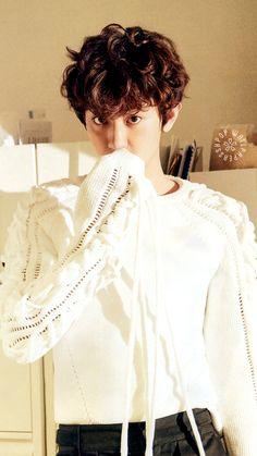 Image de exo, chanyeol, and wallpaper