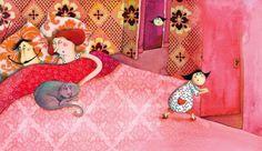 Marie Desbons, Children's Books Illustrations (France) ~ Blog of an Art Admirer