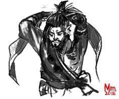 Overwatch: Hanzo Shimada by Monkanponk