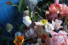 Floral arrangement created in the Little Flower School's Dutch Masters Class, Spring 2012. via Maison Paulette