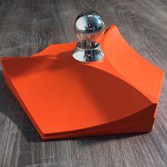 Retro-Wandleuchte, orange