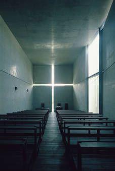 Church of the Light, Osaka, 1989 by Tadao Ando Photo: Mitsuo Matsuoka