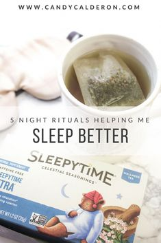 If you're having a hard time going to sleep, you want to read this! My tried-and-true wellness tips & tricks for better sleep!