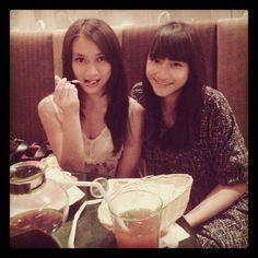 With Frieska Jkt48