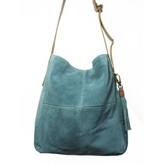 Jade Suede Purse #FairTrade