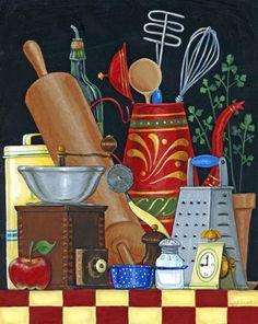 Kitchen Still Life by Joseph Holodook