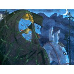 Werner Berg, Flucht, 1933