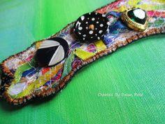 hand textured cuff bracelet