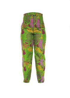 Ankara Pants  African Print Pants  by KwanzaInspiration