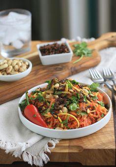 Burmese Carrot Salad