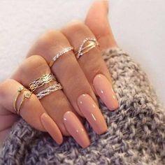 Coffin Nails, Stiletto Nails, Nude Nails, Christnas Nails, Maybelline Nail Polish, Image Nails, Gel Nail Art Designs, Nail Polish Sets, Gel Polish