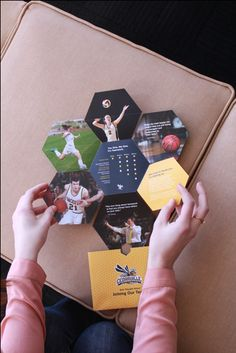 Cedarville Athletic Self-Mailer on Behance