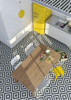 Casinha colorida: Rapidinha: refrigeradores Smeg no décor: