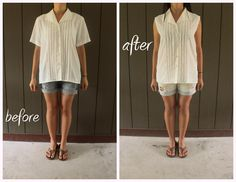 49 Dresses: DIY - this girl does a lot of re-fashioning with clothes and other things.