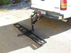 Truck Bed, Tow Truck, Trucks, Motorcycle Carrier, Motorcycle Gear, Porte Moto Camping Car, T3 Vw, Atv Trailers, Kombi Home