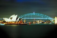 Harbour Bridge & Opera House, Sydney, Australia