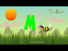 Learn A to Z alphabets | ABC Song for children animated rhyme