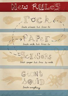 ROCK PAPER LIZARD SPOCK Royal Drawstring Bag science theory fans NEW