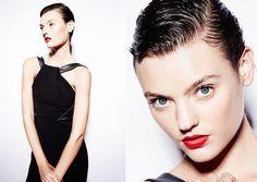 HAIR ASHLEIGH CROKER @ VALONZ  Photography:Jason Ierace @ Reload Agency    Makeup: Nadine Monley    Stylist: Billie Iveson @ Russh   Model: Montana Cox @ Chic