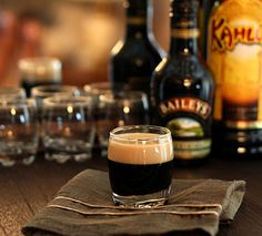 Click Pic for 23 St Patricks Day Cocktails - Baby Guinness | St Patricks Day Party Ideas