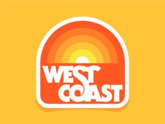 West Coast 2 by Peter Komierowski #Design Popular #Dribbble #shots