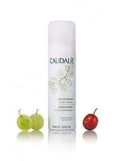 Caudalie - Eau de Raisin® Bien plus qu'une simple eau minérale elle repulpe la peau.