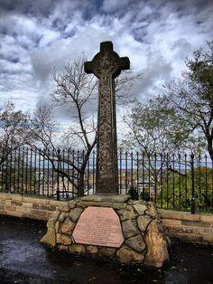 Edinburgh Castle Esplanade, Monument To Colonel Mackenzie, Edinburgh