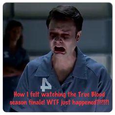 True blood season 6 finale #ericnorthman #wtfTrueBlood